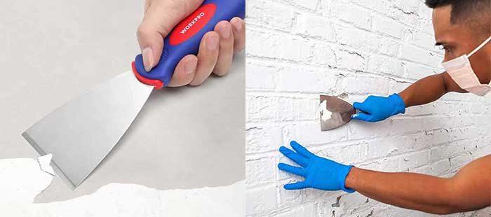 Scrape Off Old Paint