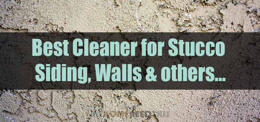 Best Stucco Cleaner