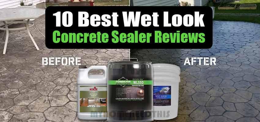 Best Wet Look Concrete Sealer