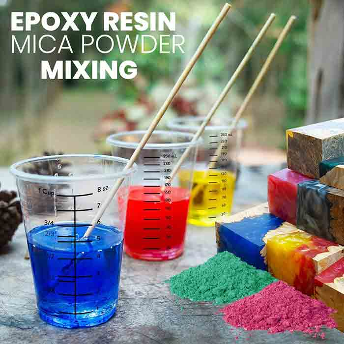 Adding Color to Epoxy Resin